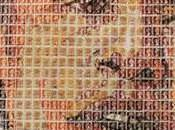 Portraits Icons Created From Postage Stamps