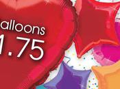 Heart, Star Round Foil Party Balloons