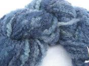 Handspun Hand-dyed Yarn Blue-faced Leicester