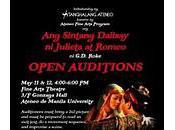 Auditions Tanghalang Ateneo's Sintang Dalisay Julieta Romeo