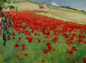 William Blair Bruce Landscape with Poppies.