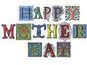 Hand-Colored Mother's Card