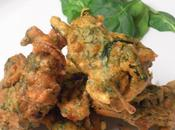 Palak Pakoras Indian Style Spiced Spinach Chickpea Fritters