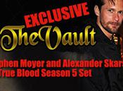 Vault Exclusive: Alexander Skarsgård Stephen Moyer True Blood Season