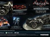Batman: Arkham Knight Collector's Edition Include Transforming Batmobile Statue