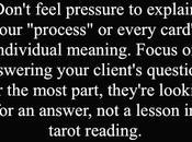 Tarot #47: Focus Answers