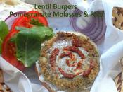 Week Day-Night-End Special Occasions Mediterranean Lentils Burgers with Pomegranate Molasses Feta