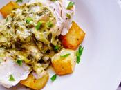 It's Easy Being Green: Fish Sorrel Sauce with Sautéed Potatoes