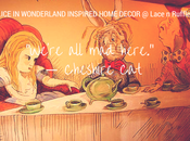 Alice Wonderland Inspired Home Decor