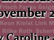 Announcing German Literature Month November 2014