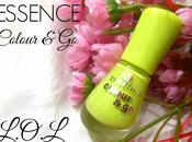 Lime Green Nails with Essence Colour L.O.L (138) Nail Polish