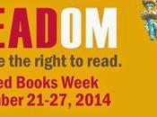 BANNED BOOKS WEEK, September 21-27, 2014, Celebrating Freedom Read