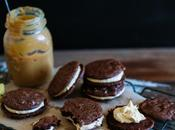 Procrastibaking with Brownie Dulce Leche Cookie Sandwiches