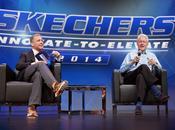 President Bill Clinton Delivers Keynote Address Skechers Global Conference