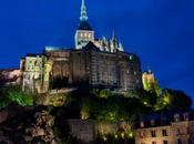 Night Mont Saint Michel