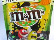 M&M's Limited Edition Halloween Green Orange Colours