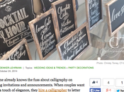 Gathering Guide Article CT-Designs (Wedding Signage)
