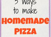 Family Meals Homemade Pizza Ways)