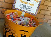 Halloween Bowl Candy: Please Take