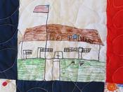 BOOK QUILT: Treasured Souvenir Author Visit Taft Primary School Many Years