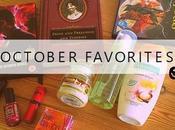 October Favorites 2014