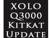 XOLO Q3000 Gets Android KitKat Update