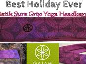 Happy Holiday's with Gaiam