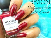 Burgundy Nails with Revlon Parfumerie Scented Nail Color Bordeaux