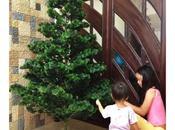 Little Girls Starting Decorate Tree!...