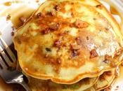Bacon Avocado Pancakes with Maple Syrup