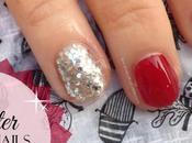 Festive Glitter Nails #Blogmas