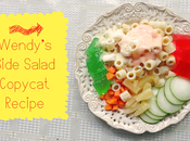 Wendy's Side Salad Copycat Recipe
