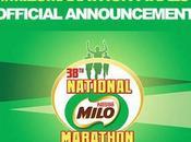 URGENT: MILO ADVISORY 38th NATIONAL MARATHON POSTPONED: Official Statement from
