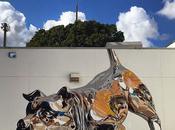 Massive Chrome Mural Illusion Sculpture