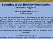 Your Boundaries?