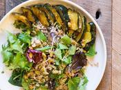 Roasted Acorn Squash Farro Salad