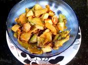 Matar Chhilke Sabji (Peels Pods with Potatoes)