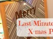 Last Minute Christmas Poster