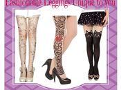 Trendy Leggings Make Statement with Printed Tights