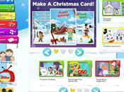 Disney Junior Christmas Card Creator Coluring