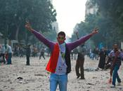 Violence Returns Tahir Square Video Police Brutally Beating Female Protester Emerges