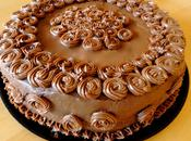 Double Chocolate Cake with Caramel Filling