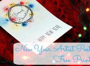 Year Artist Postards Free Printable