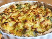 Cauliflower Broccoli Cheese Tart