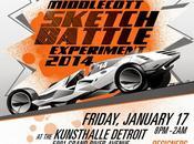 Middlecott Sketchbattle Experiment Detroit Contest