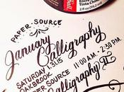 2015 Calligraphy Classes January