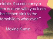 Portable Poem: Maxine Kumin Inspires Look Writing Differently