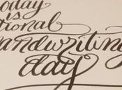 January 23rd National Handwriting