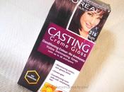 Color Hair Home Step Pictorial L'Oreal Paris Casting Creme Gloss (316) Plum Review, Price
