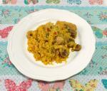 Arroz Amarillo Pollo Chicken Yellow Rice